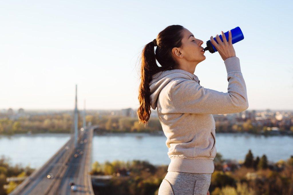 Dovoljno vode uz trčanje