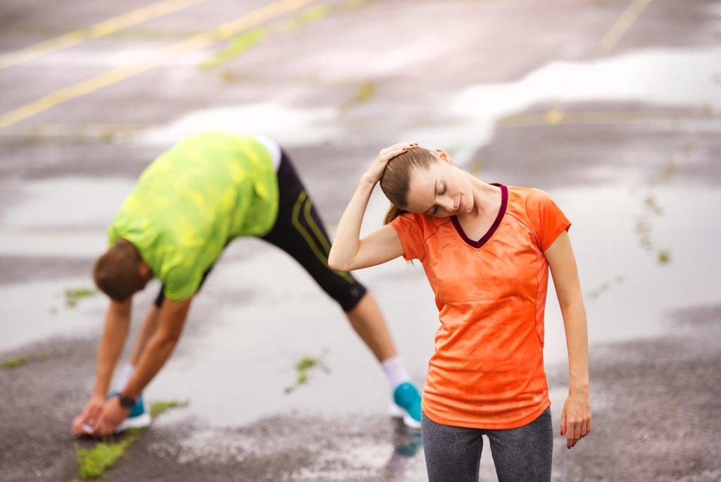 Istezanje pre trčanja